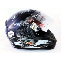KASK LS2 FF352 ROOKIE COMIC BLACK S